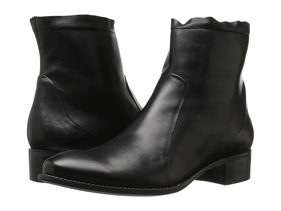 Paul Green Kal Boot (Black Leather) Women