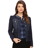 Rebecca Taylor - Tweed Denim Jacket
