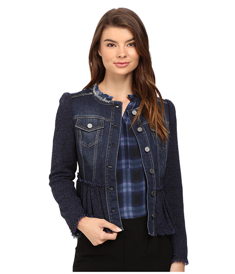 Rebecca Taylor Tweed Denim Jacket