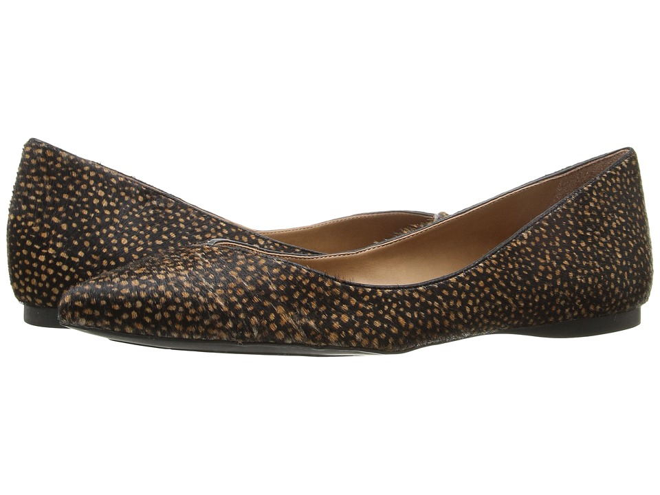 French Sole - Peppy (Black Polo Haircalf) Women