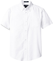 Nautica Kids - Husky Short Sleeve Oxford Shirt (Big Kids)