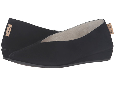 French Sole Split - Black Suede