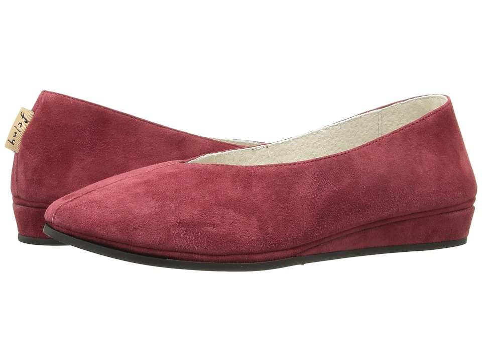 French Sole - Split (Wine Suede) Women