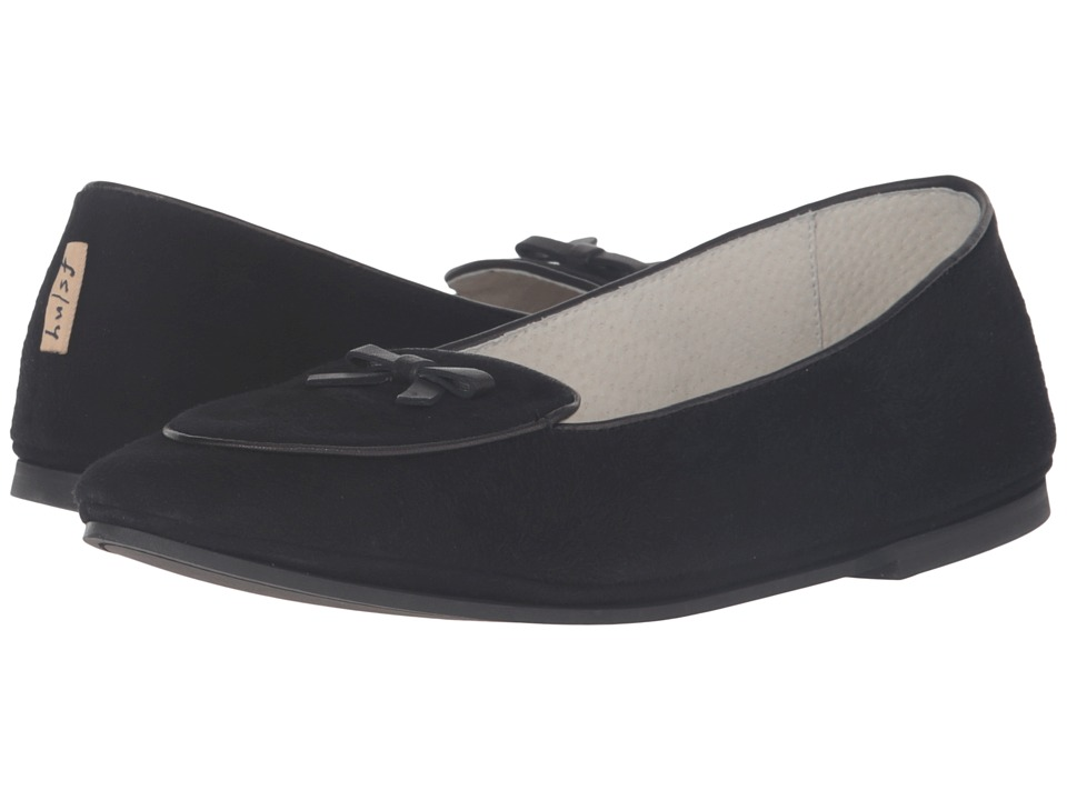 French Sole - Sweet (Black Suede) Women