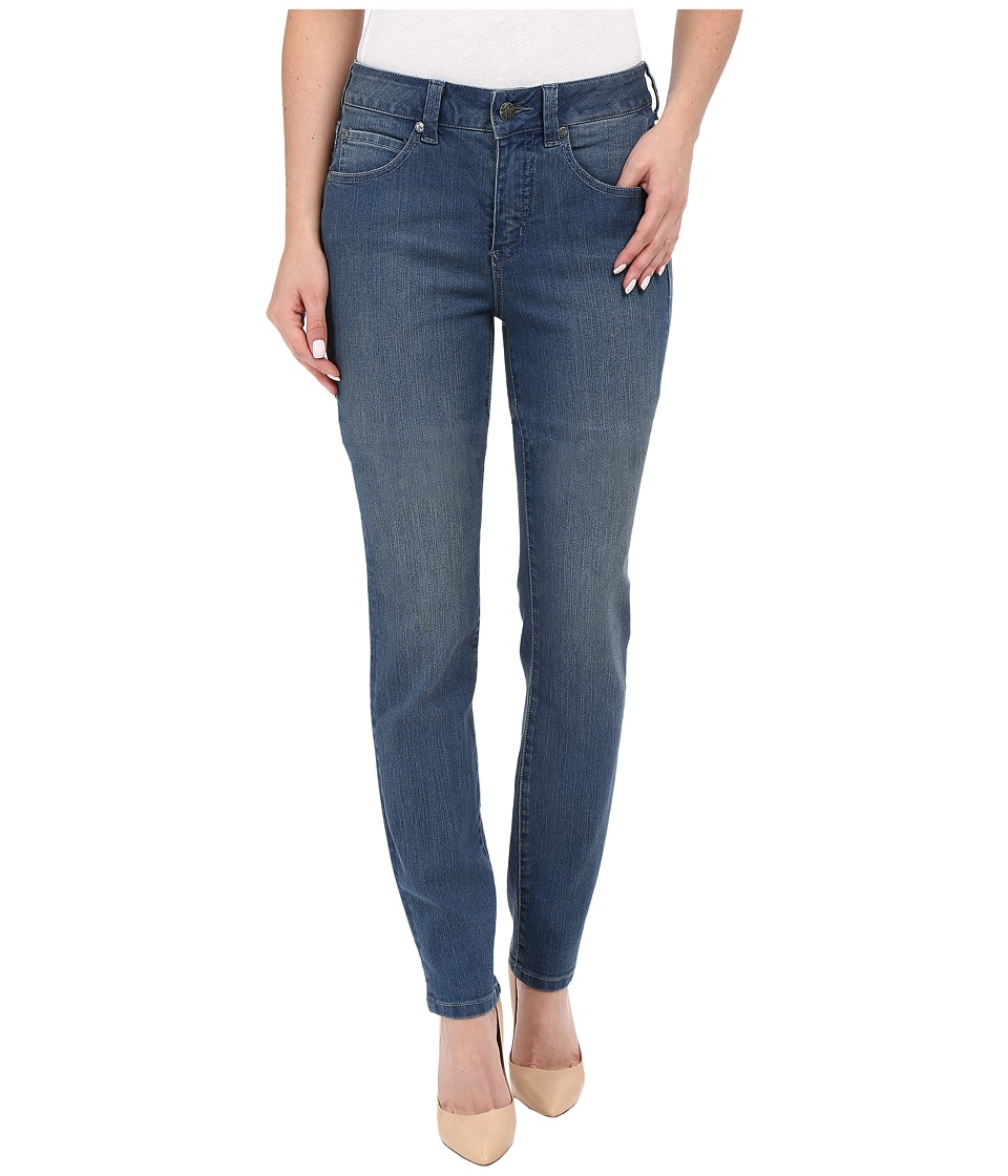 Miraclebody Jeans Five Pocket Addison Skinny Jeans in Bainbridge Blue Bainbridge Blue Womens Jeans