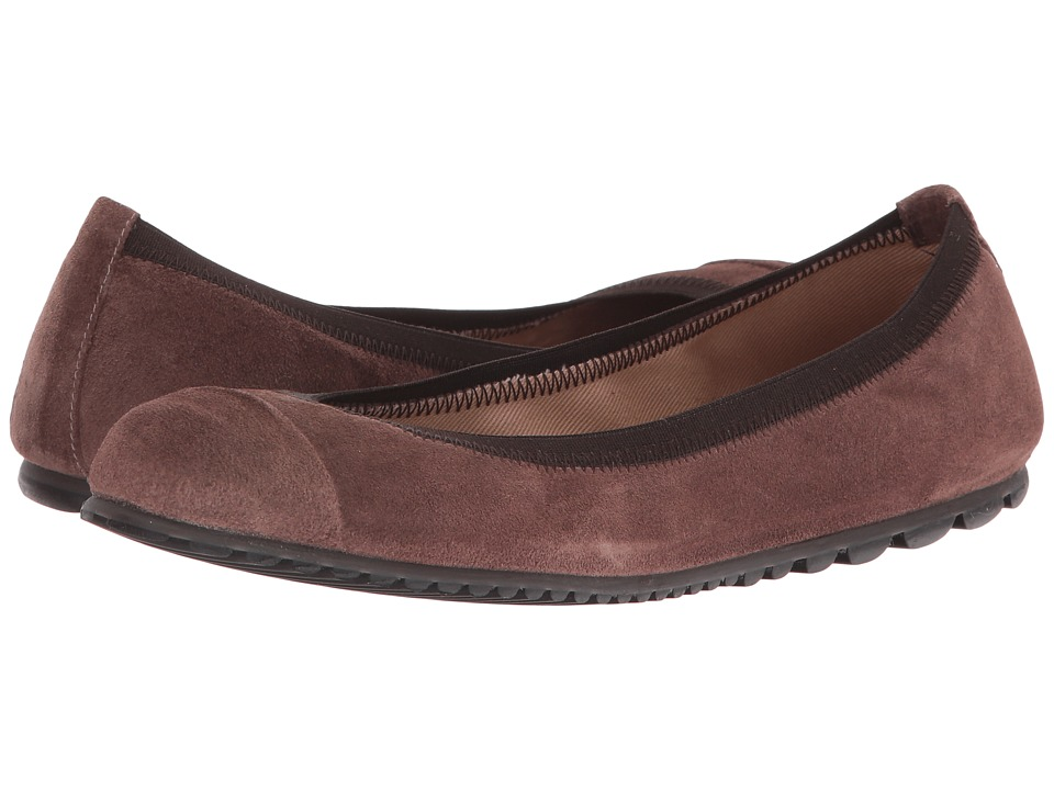 French Sole Tempo (Taupe Velour Suede) Women