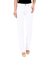 Miraclebody Jeans - Five-Pocket Abby Straight Leg Jeans in White