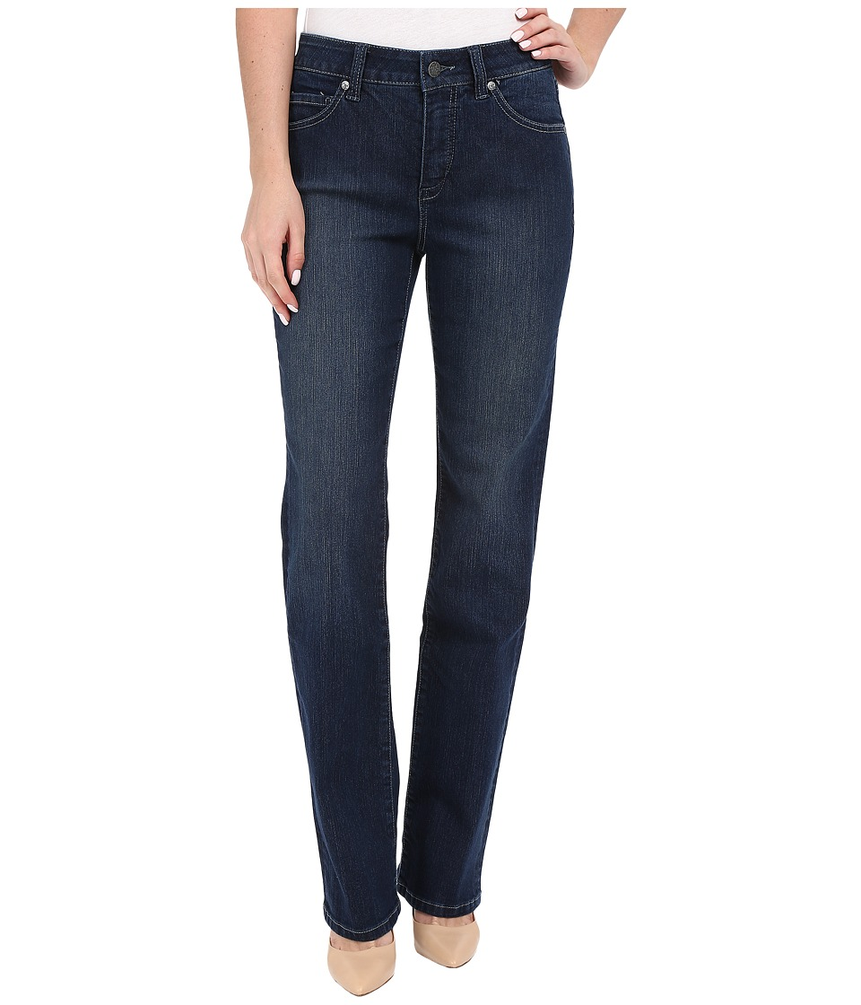 Miraclebody Jeans Six Pocket Abby Straight Leg Jeans in Seattle Blue Seattle Blue Womens Jeans