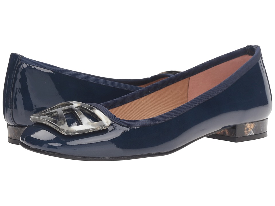 French Sole - Talisman (Navy Patent) Women