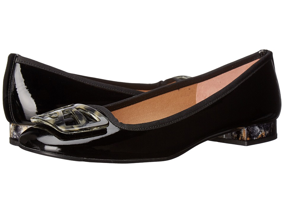 French Sole Talisman (Black Patent) Women