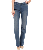 Miraclebody Jeans - Six-Pocket Abby Straight Leg Jeans in Bainbridge Blue