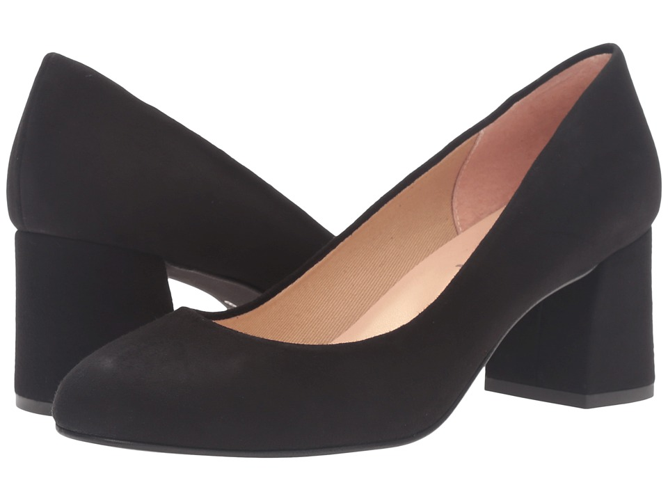 French Sole Trance (Black Suede) Flats