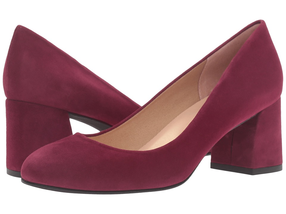 French Sole - Trance (Wine Suede) Women