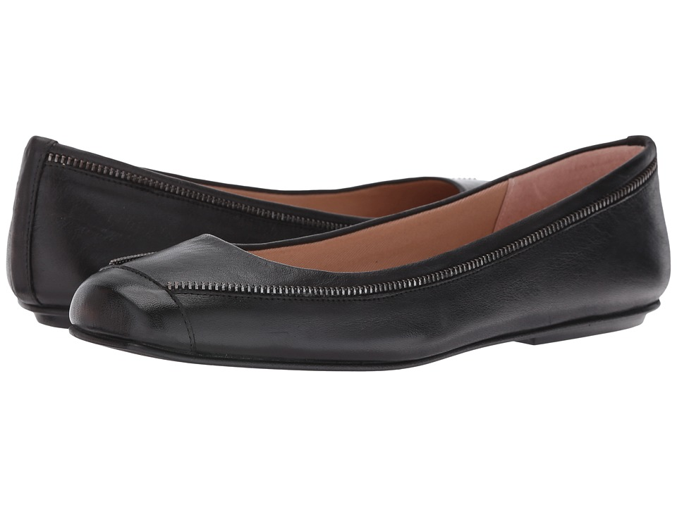 French Sole - Twiggy (Black Soft Calf) Women