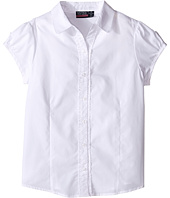Nautica Kids - Girls Plus Ruffle Placket Blouse (Big Kids)