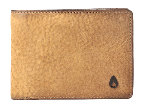 Nixon The Cape SE Bifold Wallet - Brown Wash