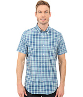 Nautica - Short Sleeve Wrinkle Plaid Pocket