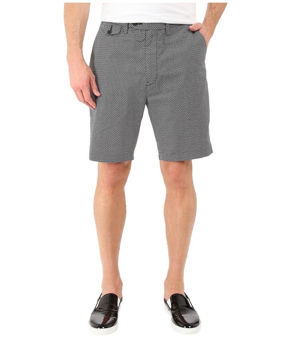 Nautica Geo Print Shorts True Black Mens Shorts