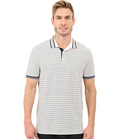 Nautica - Short Sleeve Yarn-Dye Striped Polo
