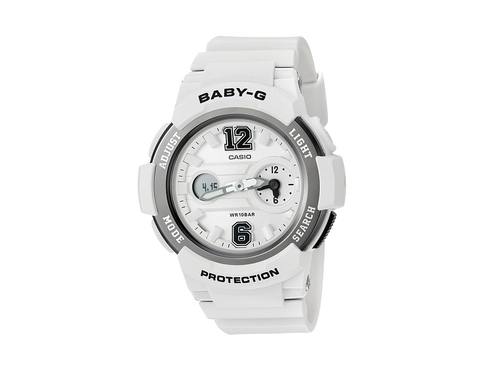 G Shock BGA 210 7B1CR White Sport Watches