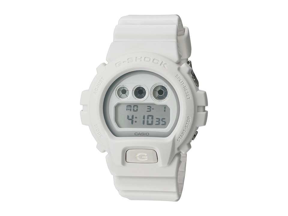 G Shock DW 6900WW 7CS White Sport Watches