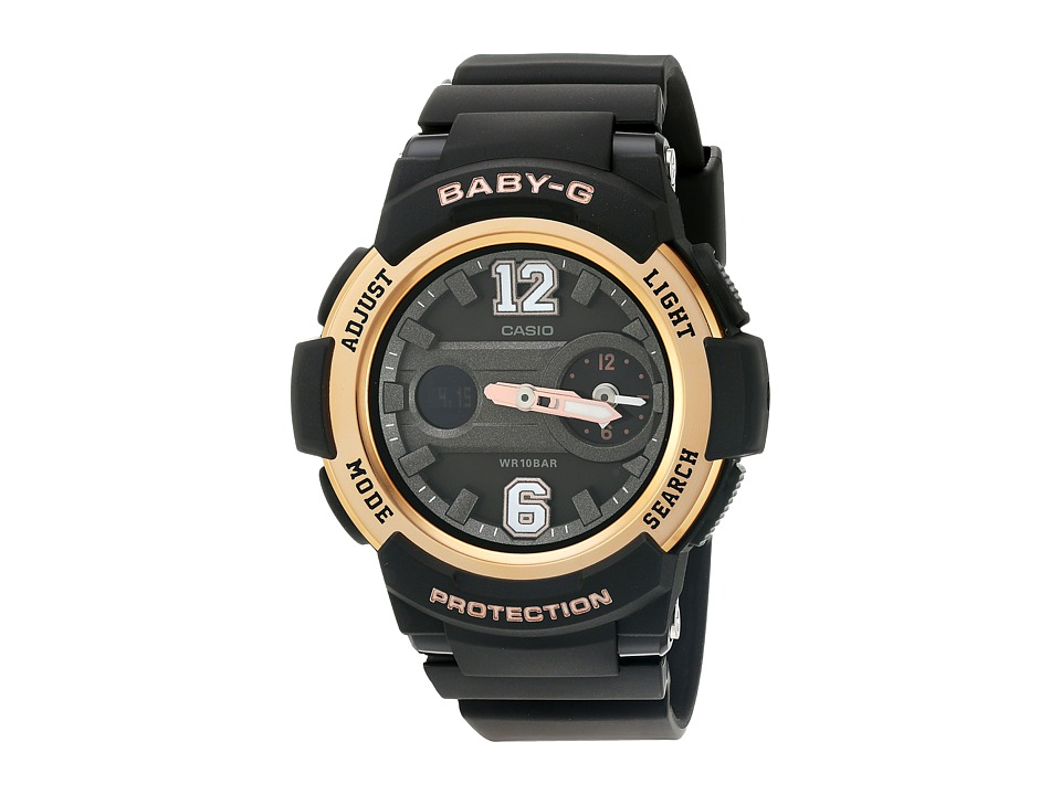 G-Shock - BGA-210-1BCR (Black) Sport Watches