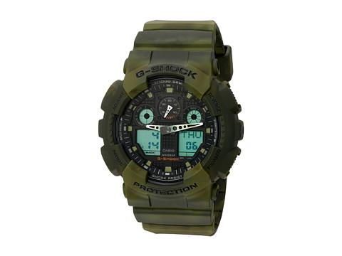 G-Shock GA-100MM-3ACR - Green Marble