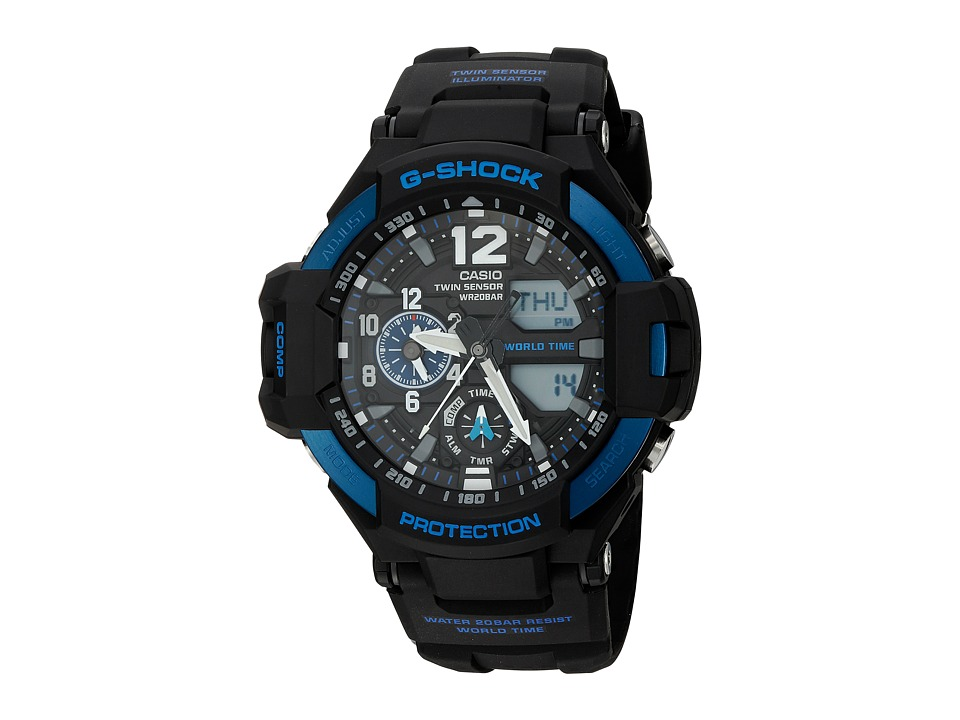 G Shock GA 1100 2BCR Black Sport Watches