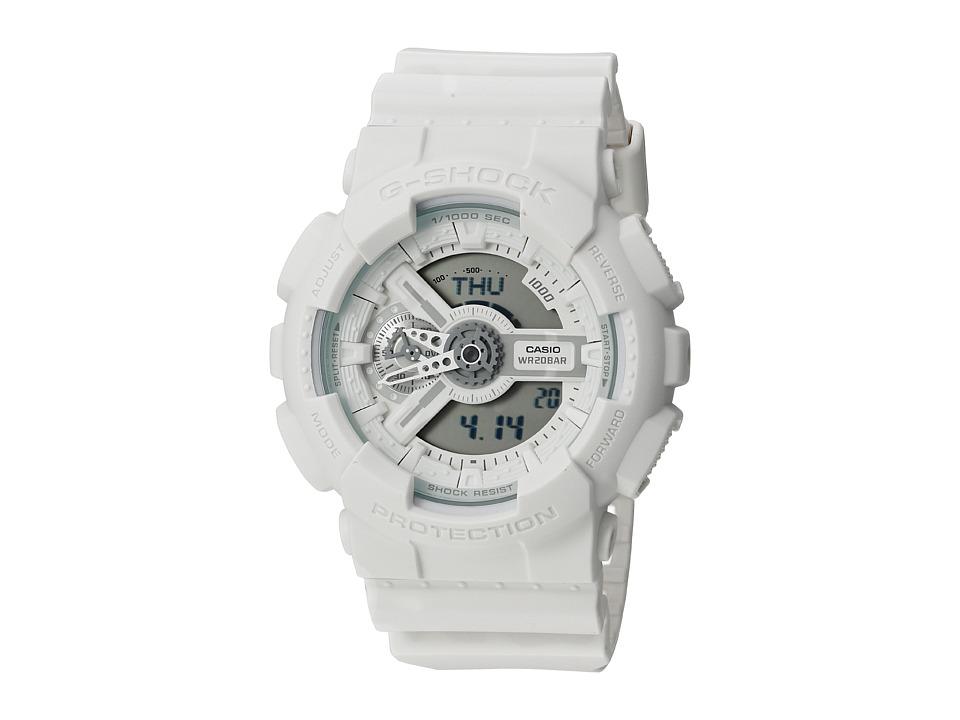 G Shock GA 110BC 7ACS White Sport Watches