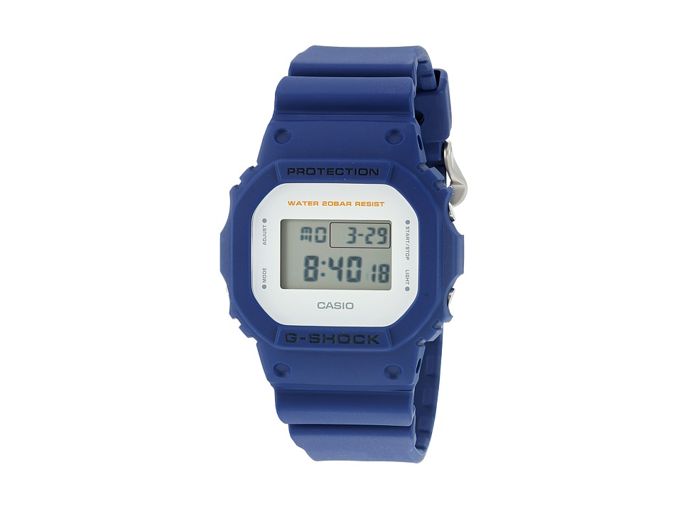 G Shock DW 5600M 2CR Blue Sport Watches