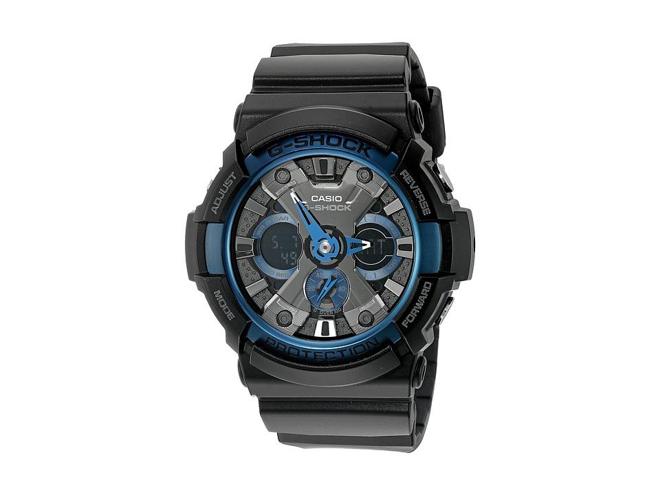 G Shock GA 200CB 1ACR Black Sport Watches