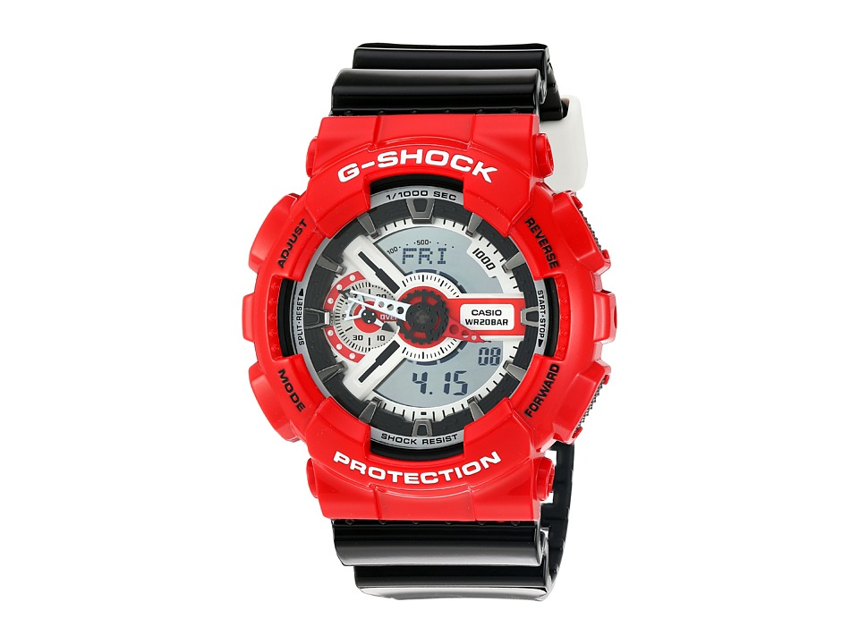 G Shock GA 110RD 4ACR Red Sport Watches