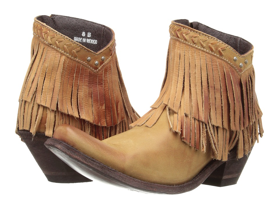 Old Gringo Pandora Beige Cowboy Boots