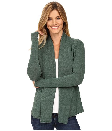 Mod-o-doc So..Soft Sweater Knit Seamed Cardigan - Cypress