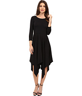 Mod-o-doc - Cotton Modal Spandex Jersey Hanky Hem Dress