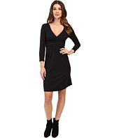 Mod-o-doc - Cotton Modal Spandex Jersey Surplice Banded Empire Dress