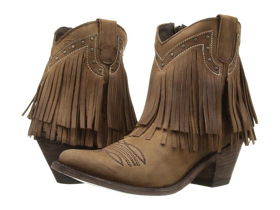 Old Gringo Jamal (Brown) Cowboy Boots