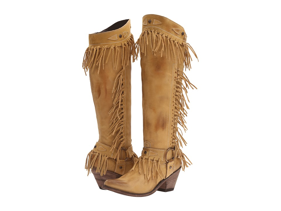 Old Gringo Nikka Beige Cowboy Boots