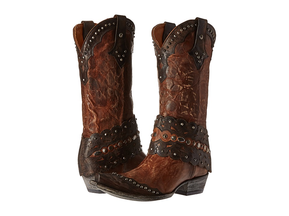 Old Gringo Jerely (Oryx/Chocolate) Cowboy Boots
