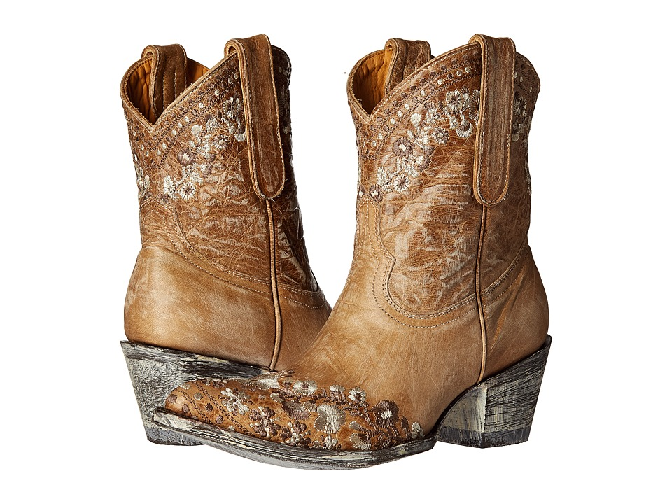 Old Gringo Amelia (Bone) Cowboy Boots