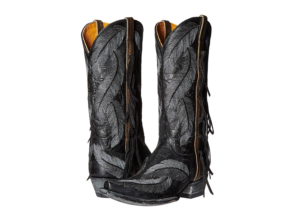 Old Gringo Choctaw (Black) Cowboy Boots