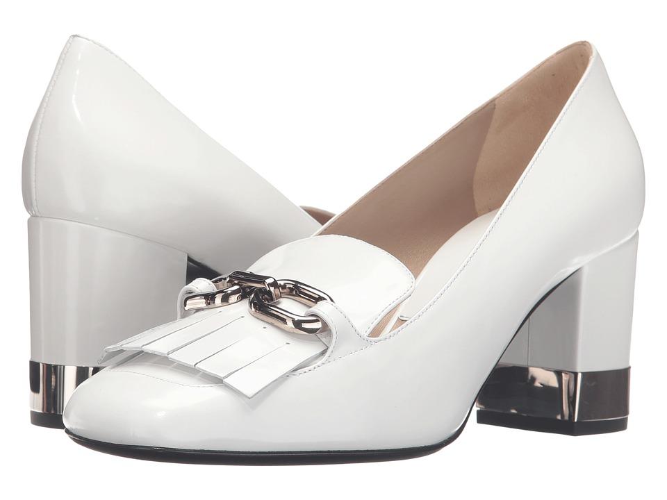 Michael Kors Carrie Runway (Optic White/Palladium Spazzolato) Women