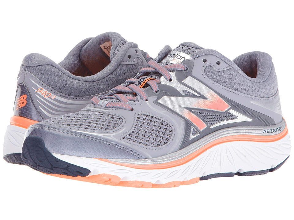 New Balance W940v3 (Silver/Grey/White) Women's Running Shoes