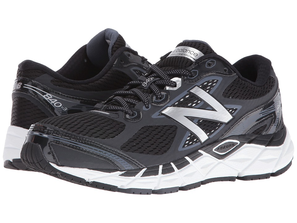 New Balance - 840v3 (Black/White) Mens Running Shoes
