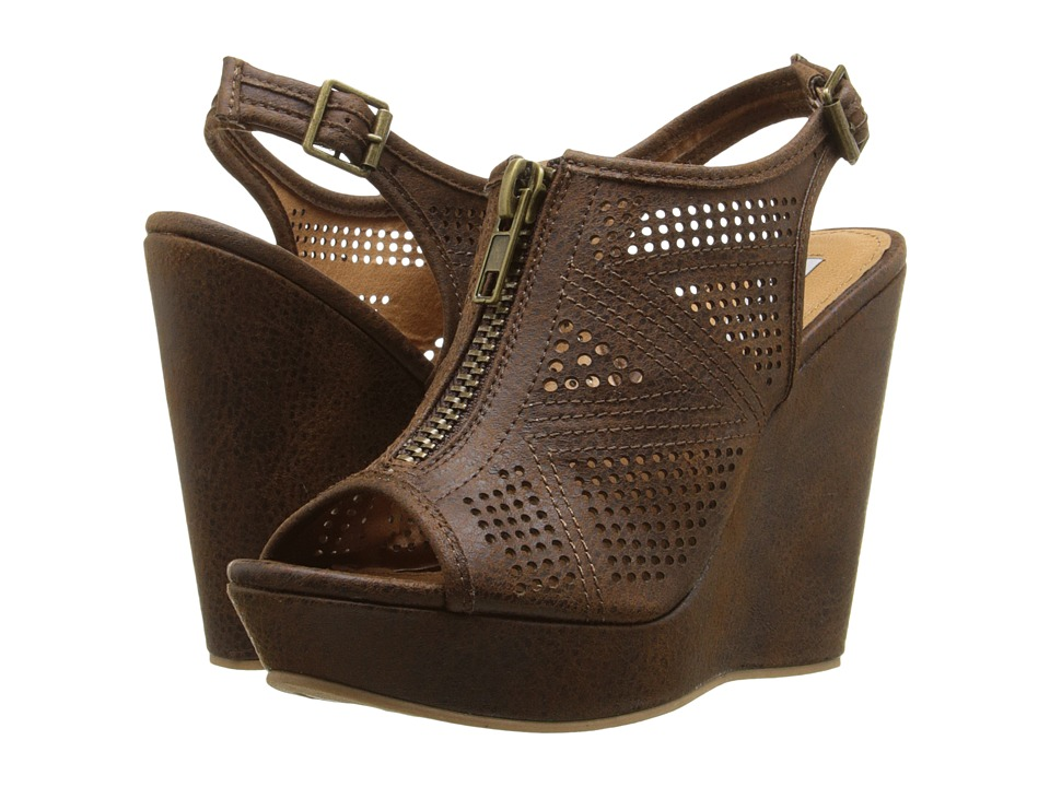 Not Rated Forrest Tan Womens Wedge Shoes