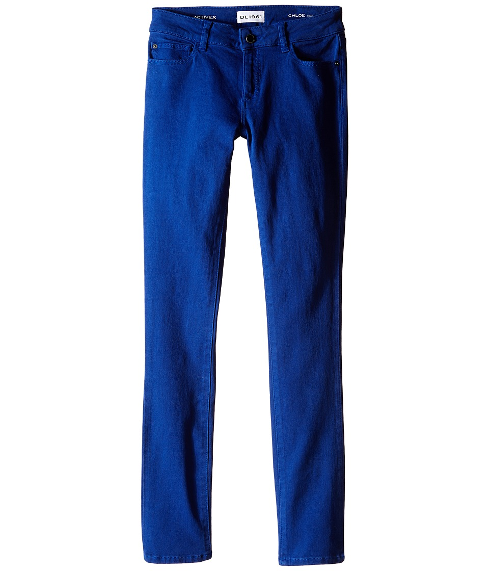DL1961 Kids Chloe Skinny Jeans in Bluecrush Big Kids Bluecrush Girls Jeans