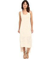 HEATHER - Linen High-Low Tank Dress