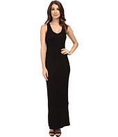 HEATHER - Sleeveless Peekaboo Maxi Dress