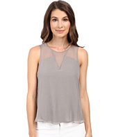 HEATHER - Silk Block Tank Top