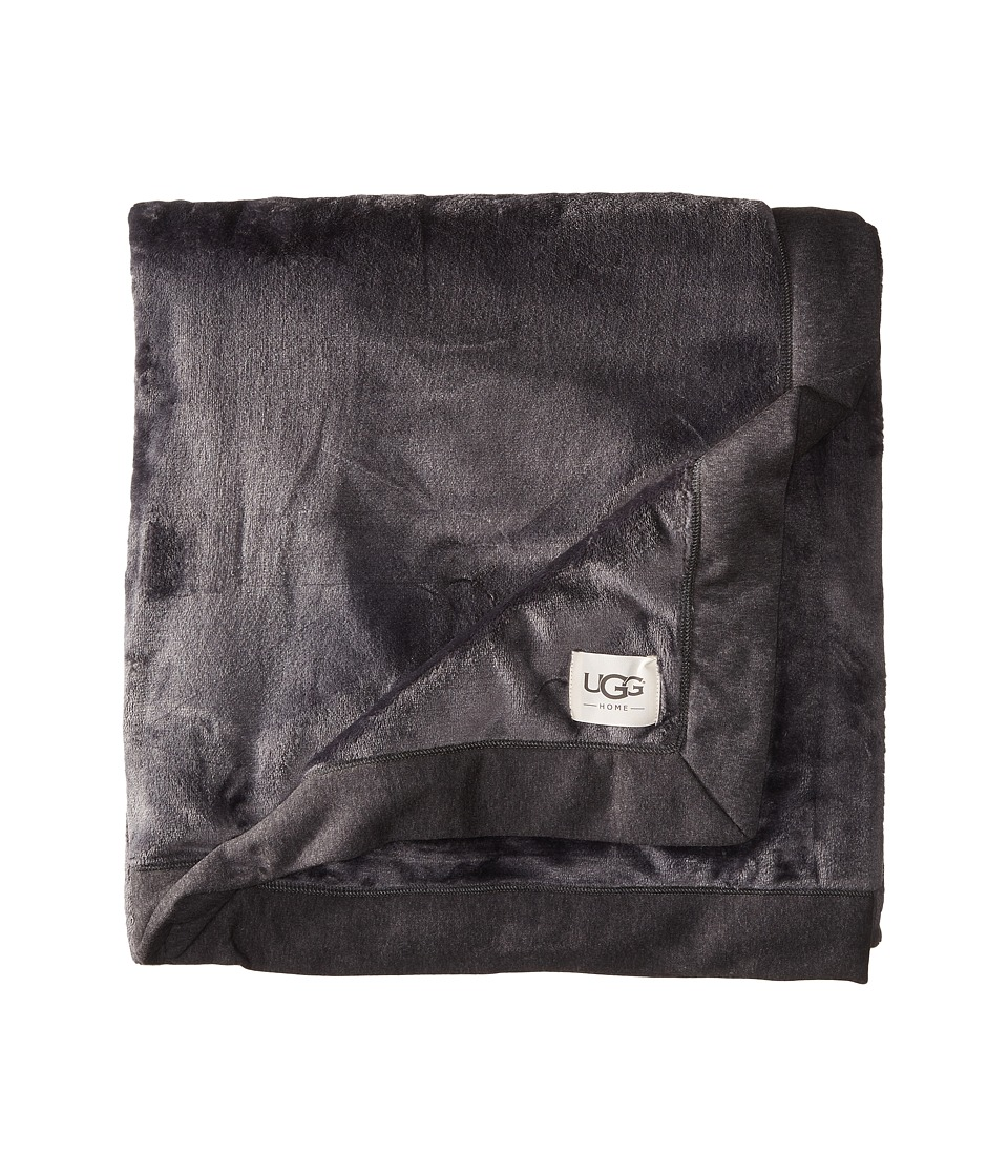 Ugg Duffield Throw (Black Bear Heather) Sheets Bedding